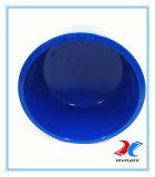 400mm DIN cor azul da Tampa da Extremidade de PVC com OEM