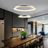 Anillo de círculo de la Ronda de tres capas de acrílico LED Luz colgante