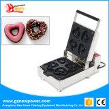 Ciambella della macchina a forma di della ciambella del cuore di prezzi di fabbrica mini che fa macchina