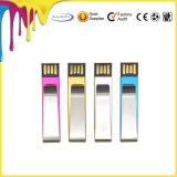 De Stok van het Geheugen van de Klem USB van het Geld van de Aandrijving van de Flits van de paperclip USB voor Gift Promition
