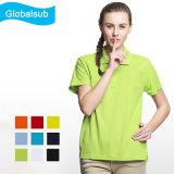 Hot Vente Publicité Polo Shirt imprimable vierge pour sublimation