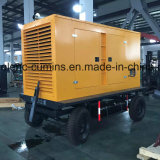 20kw-200kw motor Diesel Cummins gerador diesel silenciosa/ gerador de Reboque móvel