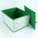 بوليستر نوع خيش يطوي مكعّب تخزين بناء صندوق لأنّ [بووك كلوث]