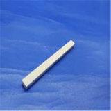 アイボリーの長方形のよい絶縁体パフォーマンスはジルコニアの陶磁器のChocのブロックを磨いた