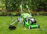1200Wは電気芝刈機を手で押す