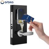 Hotel de alto padrão do leitor inteligente sem chave da fechadura da porta do cartão de RF