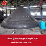 06-18 grande estremità conica del acciaio al carbonio della parete spessa con Polished con acuto per l'estremità ID6000mm*50mm del serbatoio