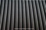 Lmn1000 Poli Spandex Elastano fios de poliéster tingida com listra Jacquard trama de malha listrado tricotado de malha elástica de tricotar tecido stretch