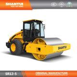 Shantui total de 12 toneladas de tambor hidráulico de un solo rodillo vibración Sr12-5