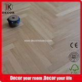 Natural de roble ruso espiga pulido pisos de madera