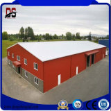 Léger et résistant de métal préfabriqué personnalisé de gros bâtiments en métal