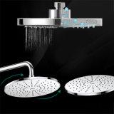 Conjunto determinado montado en la pared de la ducha del mezclador de la ducha de lluvia con la ducha de la mano