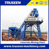 A máquina 35m3/H da construção molhou - e - a planta de tratamento por lotes concreta misturada seca