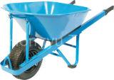 Wb7804頑丈な正方形のハンドルの一輪車