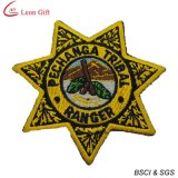 고품질 미국 경찰 자수 기장 (LM1563)