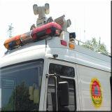 Videocamera di sicurezza infrarossa militare del laser montata Vechile