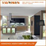 Hölzerne Oberfläche mit Melamin-Vorstand-Ausgangsmöbel-Küche-Schrank