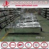 Feuille en acier ondulée de toiture du zinc Az100 en aluminium
