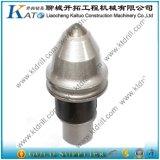 Dientes Drilling Bk47-22h del taladro del punto negro de la fundación de la pieza del desgaste