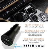 Chargeur rapide universel double chargeur voiture avec Qualcomm 3.0