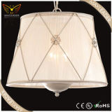 Pendant Lights of Antique White Fabric Lighting Chandelier (MD7378)