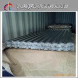 SGCC Dx51d feuille de toit en zinc ondulé galvanisé / feuille de toit Gi