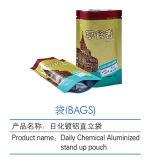 알류미늄으로 처리된 매일 화학제품은 지퍼 Foodstaff 주머니를 위로 서 있다