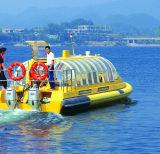 шлюпка таксомотора речной воды стеклоткани 28seats для сбывания