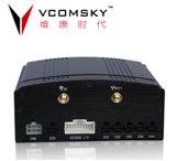 registratore record di Storagy della scheda di deviazione standard di tempo reale dell'input H. 264 di 4CH D1 avoirdupois