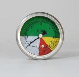 63mmの100mm等大のタイプ特別な管の圧力計に電話をかけなさい
