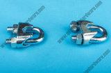 Clip galvanisé électrique de câble métallique de Casted DIN741 de fonte malléable