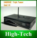 Receptor de satélite DVB Set Top Box com sintonizador triplo DM800se