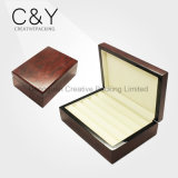 Cufflink madera de alta calidad caja de madera