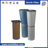 Cartucho de filtro de la toma de aire de la turbina de gas para Cleanig