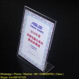 De duidelijke AcrylHouder van de Prijs, de Plastic Tribune van de Vertoning van de Prijs