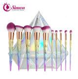 el maquillaje 10PCS/Set aplica la herramienta cosmética de la fundación con brocha