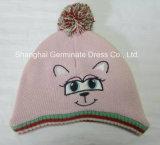 Мода Beanie Red Hat с Pompom животных (Hjb007)