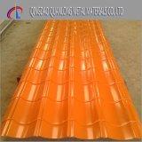 PE de CGCC Dx51d enduit d'une première couche de peinture couvrir la tôle d'acier ondulée