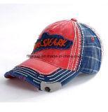 El Snapback del bordado de la gorra de béisbol de los 6 paneles capsula el casquillo de Hiphop