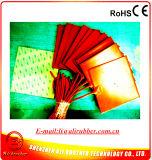 Calefator do elemento de aquecimento do silicone 100*100 para a impressora 3D