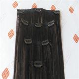 Clip extensiones de cabello humano.
