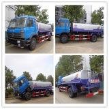 Dongfeng 4X2 6 바퀴 10ton 도로 세탁물 유조 트럭
