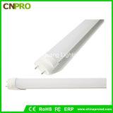 Lámpara de la luz T8 18W del tubo de la calidad los 4FT 1200m m LED para el proyecto