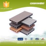 Прессуют строительный материал WPC/Anti-Slip водоустойчивая доска Decking WPC