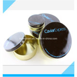 Zinn-verpackenkasten des Kaviar-100g