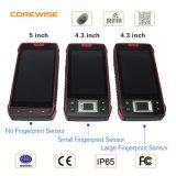 Staubdichtes intelligentes Telefon mit biometrischem Fingerabdruck-Leser und HF RFID