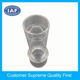 Fabricação profissional de moldagem por injeção de plástico para peças de plástico de tubo transparente