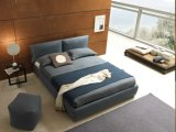북유럽 간단한 북유럽 피복 예술 침대 홈 가구