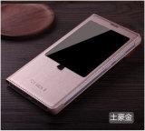 Caja del teléfono celular móvil/elegante/para el caso de cuero de Tecno/Zte/Gowin/Huawei/Nyx/M4/Lanix/Zuum