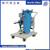 Bewegliche Karren-Schmierölfilter-Maschine